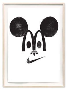 Happy Branding - Art Print by Eike König | Another Fine Mess