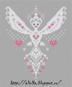Free Cross Stitch Pattern...site is in foreign language, but has this adorable free pattern