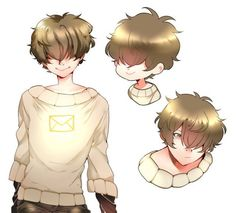 Mystic Messenger- Mc genderbent/ male version #Otome #Game #Anime. Susanghan Messenger