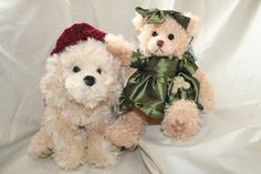 Willow and Muffin are both part of the gorgeous Settler Bear range.  Willow retails for A$45 and Muffin A$33.75.  Both are very cuddly with lovely soft fur. SHIP  WORLDWIDE Email: toodledoo@bigpond.com www.settlerbearsaustralia.com.au Mobile:  0433 253 800  Toodle Doo - the MAGIC place to shop!