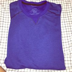Patagonia Tee Longsleeve royal blue color Patagonia tee. Very lightweight material. Perfect for working out or simply lounging. Only worn a few times Patagonia Tops Tees - Long Sleeve