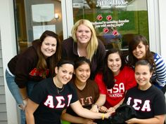 Gamma Iota Chapter, Rochester Institute of Technology, volunteered at a local vet clinic