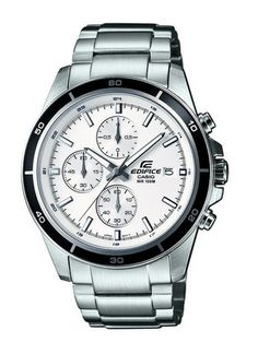 LIGHTNING DEAL Casio Silver Edifice Men's Watch SAVE 74% NOW £52.49