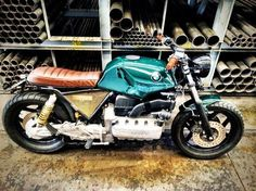 BMW K100 Custom Bienva by Espresso Motorcycle  Wow, this is pretty well exactly what I planned on doing with mine