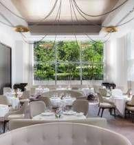 Consistently awarded four stars by the New York Times and three Michelin stars, Jean-Georges presents exquisitely crafted dishes blending French, American, and Asian influences.