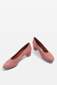 JURY Mid Heel V-Cut Court Shoes