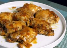 Baked Chicken Thighs with Sweet and Savory Orange Sauce: Chicken Thighs With Orange Sauce. I am going to try this with chicken breasts.