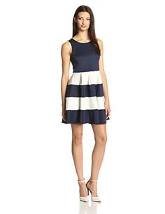 Glamorous Women's Sleeveless Fit and Flare Dress K Reviews     #Dress, #Flare, #Glamorous, #Reviews, #Sleeveless, #Womens