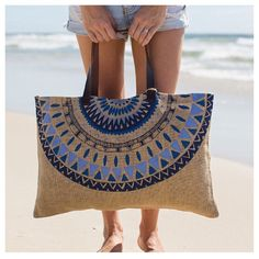 Coming soon | new @thebeachpeople jute bag in marjorelle print | pre-order now #aureliaboutique #xmasgiftidea
