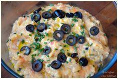 À table !      con Carmen: Crema Fría de Ensalada de Patata
