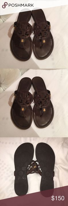 TORY BURCH brown sandal!!! TORY BURCH brown sandal!!! Worn only a handful of times - in great condition! 🚨 Will lower price 10% so you get free shipping too. 🚨 Tory Burch Shoes Sandals