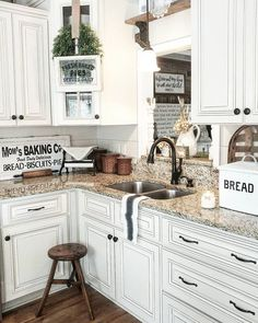 #kitchen #ideas #interior design #farmhouse #farmstyle @artisanslist ❤️ ❤️ ❤️     Farmhouse kitchens mix a huge number of particular styles: cabin, vintage, provincial and custom as well. Furthermore, in case you're imagining a space that holds so ...