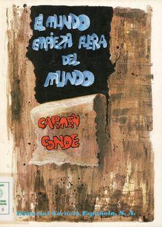 """""""El mundo empieza fuera del mundo"""", il., F. Cruz de Castro, Madrid, Escuela Española, 1979 (Colección infantil y juvenil)."""