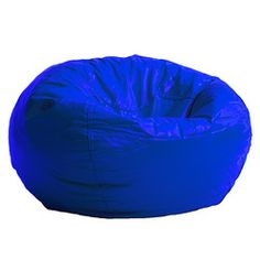@Overstock.com - BeanSack Royal Blue Vinyl Bean Bag Chair - This blue bean bag chair makes a funky, youthful and comfortable addition to any interior. Use it as a party accessory or chill in it while reading a book, it will easily become the favorite seating element in your house with its royal blue finish. http://www.overstock.com/Home-Garden/BeanSack-Royal-Blue-Vinyl-Bean-Bag-Chair/6271375/product.html?CID=214117 $31.99