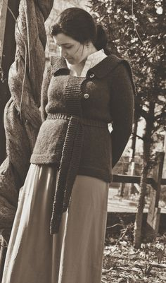 Sybil's Sweater Knitting Pattern.  might be making this.  ~k.