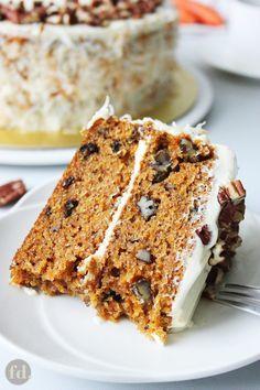 Super Moist & Tender Carrot Cake