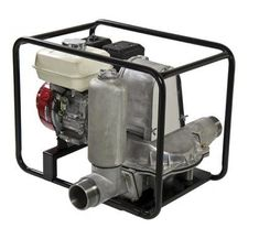 The TD series are automatic priming, engine driven diaphragm pumps. Drive options are Honda 4 stroke petrol engines (with oil alert) or an electric start Hatz diesel engine. Capable of dry running they can pump site water containing sand and silt. Diesel sets are trolley mounted while the petrol versions have easy carry frames with an optional site trolley. Supplied with strainer and couplings.