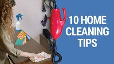 Top 10 Home Cleaning Tips to Make a Neat and Beautiful Home House Cleaning Tips, Cleaning Hacks, Clean House, Beautiful Homes, How To Make, Decor, House Of Beauty, Decorating, Nice Houses