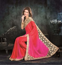 Saree Partywear Sari Indian Bollywood Ethnic Wedding Pakistani Designer New 6100…