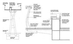 pedestrian bridge detail drawings - Google leit