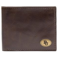 Jack Mason Brand Baylor Bears Legacy Wallet // This would be so perfect for a Bear's graduation present. Or birthday. Or anniversary. Or any day!