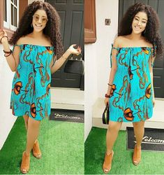 The complete collection of Exotic Ankara Gown Styles for beautiful ladies in Nigeria. These are the ideal ankara gowns Short African Dresses, Ankara Short Gown Styles, Short Gowns, Ankara Gowns, African Print Dresses, African Fashion Dresses, African Attire, African Wear, Ankara Skirt