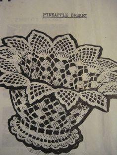 Free Crochet Easter Basket Patterns | Crochet Basket Pattern - Free Vintage Craft Patterns - Crochet