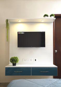 HomeLane: Full Home Interior Design Solutions, Get Instant Quotes. Beautiful Houses Interior, Beautiful Interiors, Living Room Designs, Living Room Decor, Tv Unit Furniture, Tv Unit Decor, Entertainment Units, Curtain Styles, Wardrobe Storage