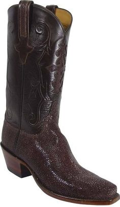 ab6d7d5163c Lucchese Classic L1314 Brown Cowgirl Boots