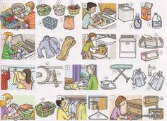 LAUNDRY - Picture Dictionary for Kids