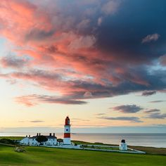 Souter lighthouse, Tyne and Wear, England. Costa, North East England, Places Of Interest, British Isles, Newcastle, Great Britain, East Coast, Beautiful Places, Places To Visit