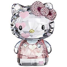 Swarovski Crystal Hello Kitty Hearts, Limited Edition 2012 $600.00
