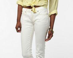 Shop Your Shape: White Jeans