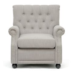 @Overstock.com - Lombardi Light Grey Linen Modern Club Chair - Add a modern twist to your home decor with this linen club chair. This club chair features light gray linen that will look great with many home styles. The chair has a sturdy wooden frame and polyurethane foam cushioning with a removable seat cushion.  http://www.overstock.com/Home-Garden/Lombardi-Light-Grey-Linen-Modern-Club-Chair/6834400/product.html?CID=214117 $339.29