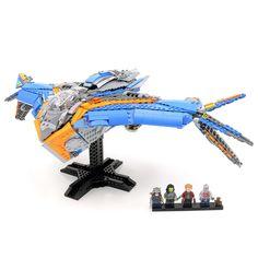 Custom LEGO UCS Guardians of the Galaxy Milano Instructions