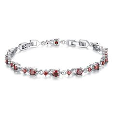Luxury Color Crystal Chain Bracelets