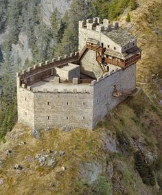 Inspiration for knight's brother's castle