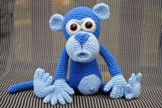 Monkey made by Lucie - crochet pattern by Lovely Baby Gift http://www.ravelry.com/patterns/library/amigurumi-monkey-9