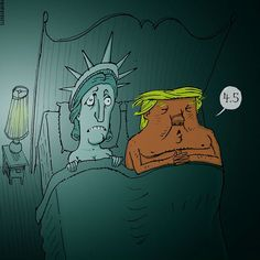 Cartoonists around the world illustrate their feelings on the Trump administration (Photos)