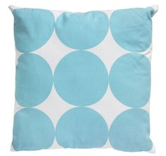 Could this large spot Hawaii cushion liven up your Blue Monday? #cushion #bluemonday