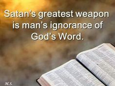 Wether we don't know Gods word or ignore Gods word, problems start from the lack of implementing Gods word