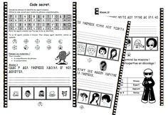 Code secret, lecture, compréhension, décodage, dixmois