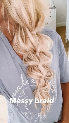 Prom Hairstyles, Pretty Hairstyles, Bridesmaid Hairstyles, Cute Blonde Hairstyles, Wedding Hair Blonde, Hairstyles For Long Hair Wedding, Wedding Hair Side, Fast Hairstyles, Hairstyle Ideas