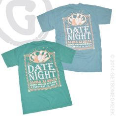 ALPHA XI DELTA SORORITY BOWLING NIGHT DATE NIGHT CUSTOM CHAPTER ORDER!! AXID & GETSOMEGREEK!