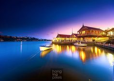 """Sunset over historic Proudfoots Boathouse Restaurant. Real colour real glow real sunset no tricks just different white balance and long exposure.  : Canon 5D MKIII : Canon 16-35mm ƒ/2.8 : 30"""" ISO100 ƒ/4 : VIC AU  #amazing_australia #australia #australiagram #canonaustralia #exploreaustralia #ig_australia #iloveaustralia #seeaustralia  #worldbestshot #wow_australia #ig_exquisite #proudfoots #big_shotz #ausfeels #australia_oz #visitvictoria #ilovevictoria #boathouse #restaurant #hopkinsriver…"""