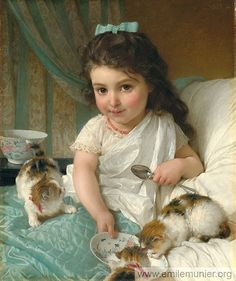 Children by Emile Vernon
