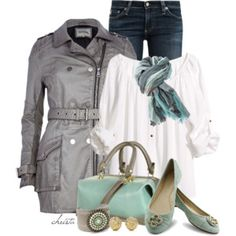 Leather Trench