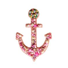 Anchor Seashell Ornament by TheMermaidsBox on Etsy