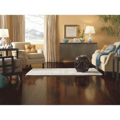 Shop Bruce Artesian Classics 5-in W Prefinished Cherry Engineered Hardwood Flooring (Mountain Grove) at Lowes.com