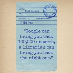 great quote from Neil Gaiman